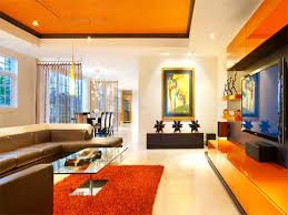 Orange Living Room Design Archives Home Caprice Your Place For - Living room design simple