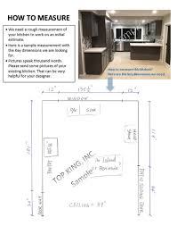 How To Measure Floor Plans How To Measure Top King Cabinetshigh Quality Low Prices