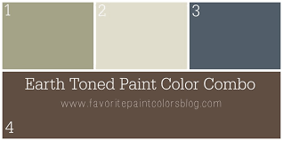 earth toned paint color combination favorite paint colors