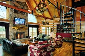 Beautiful Log Home Interiors Log Home Decor Archives Cabin Living