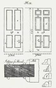 making a 19th century door or why do modern replacement doors