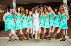 bridesmaid dresses with cowboy boots country bridesmaid dresses with cowboy boots