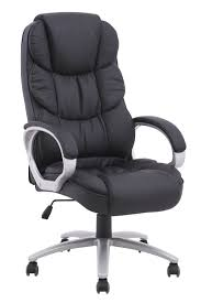 gaming desk chair merax new office pu leather lumbor support chair computer gaming