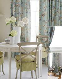 Blue Floral Curtains Baby Blue Floral Shabby Chic Curtains