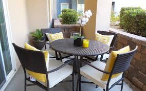 wall mounted patio table furniture ideas composite patio with small wicker in sets plan 14