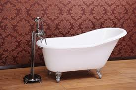 kingston brass 60 cast iron slipper clawfoot bathtub free