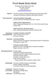 Words Resume Template One Page Resume One Page Resume Template One Page Resume Template