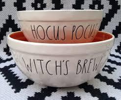 rae dunn hocus pocus bowls popsugar home