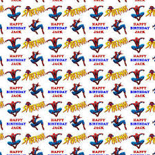 personalised gift wrapping paper birthday kids ebay