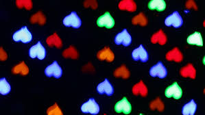 shaped lights at stock footage