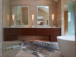 Zebra Bathroom Decorating Ideas bathroom elegant bathroom decor with large framed bathroom