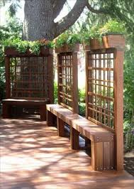 Outdoor Room Divider Ideas 15 4b27cd34a800e23f3a3eedfb84d7f99b Whg Flower Boxes Bench And Box