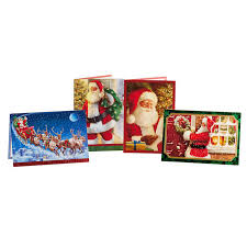 hallmark santa claus traditional christmas cards 40 count