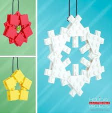 wonderful diy lego ornaments that you can assemble at