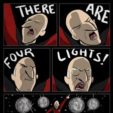 four lights there are four lights print the hijinks ensue store