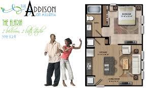 2d floor plans 2d floor plan gallery the addison on millenia