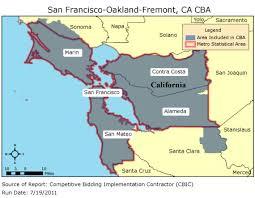 california map oakland cbic 2 competitive bidding area san francisco oakland