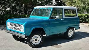 blue bronco car 1966 ford bronco g91 kissimmee 2016