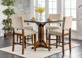 counter height table with chairs counter height table set