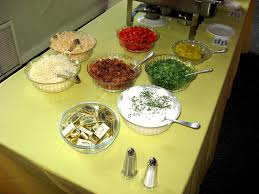 Toppings For A Mashed Potato Bar Yummm Toppings For Mashed Potato Bar Gloria Dellis Flickr