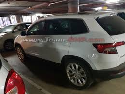 skoda karoq compact suv spotted in india for 1st time to rival