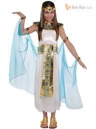 Goddess Halloween Costume Kids Girls Cleopatra Costume Greek Goddess Egyptian Queen Fancy Dress