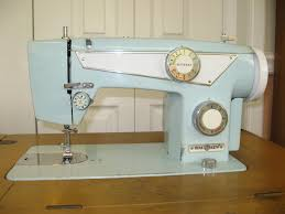 dial n sew model 750 742 vintage japan made sewing machine