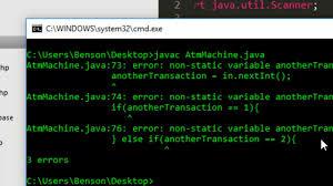 dispense java how to create atm machine in java programming java programming