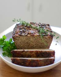 pescatarian thanksgiving recipes recipe savory hazelnut and cauliflower nut loaf with mushroom