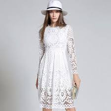 lace dress shine through knee length lace dress vivaboho