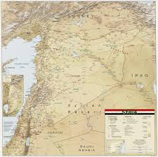 Syria Map by Atlas Of Syria Wikimedia Commons