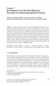 sample of synthesis essay development of an on bead digestion procedure for sample preparation in biological mass spectrometry sample preparation in biological mass spectrometry