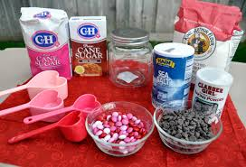 Great Valentines Day Ideas For Him Valentine U0027s Day Gift Idea Diy Cookie Mixes In A Jar Rockin Mama