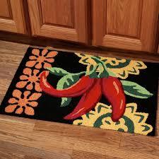 fruit design kitchen rugs
