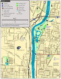 grand map maps of parks trails and attractions in grand rapids michigan