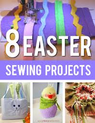 8 easter sewing projects