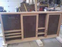 Slide Door Cabinet Sliding Door Shop Cabinet By Shelly B Lumberjocks