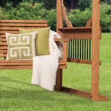 Pergola Swing Set Plans by Cedar Pergola Swing Patio Products Backyard Discovery