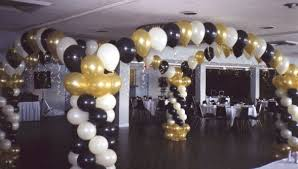black and gold party decorations unique balloon decor and balloon decorations party balloons and