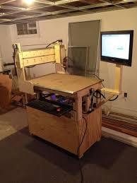 home made cnc milling machine raspberry pi