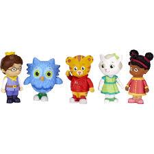 daniel tiger plush toys daniel tiger u0027s neighborhood friends figure set walmart com