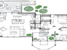 home design split level house floor plan with room names and