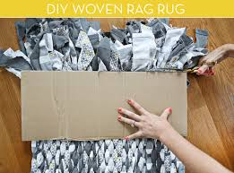 How To Make A Large Rug How To Make Your Own Rag Rug Scrap Craft And Tutorials