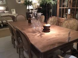 dining room tables ethan allen avery table ethan allen finish 312 mushroom w white glazesmooth ext 72
