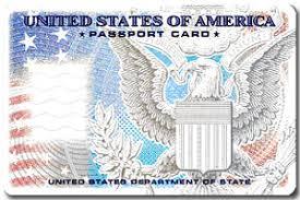 passport card facts