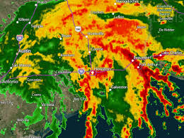 houston doppler map reports of inundate houston as harvey unleashes