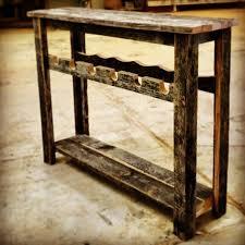 simple speckle black wine rack sofa table porter barn wood
