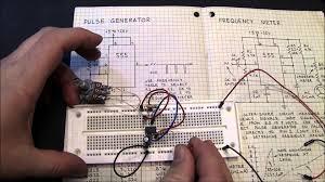 Simple Circuit Diagrams Beginners Beginner 555 Ic Chip Tutorial Youtube
