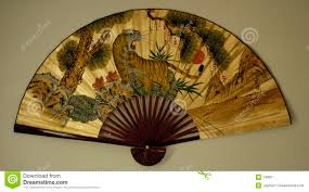 asian fan asian fan 1 stock image image of animal object hang wallfan