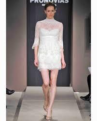 Civil Wedding Dress Three Quarter Sleeve Wedding Dresses Fall 2013 Martha Stewart